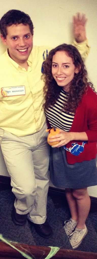 George Michael Bluth and Maeby Fünke of Arrested Development